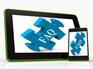 FAQ Smartphone Shows Frequently Asked Questions And Answers