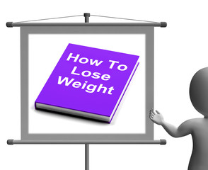 How To Lose Weight Sign Shows Weight loss Diet Advice