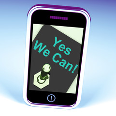 Yes We Can Switch Shows Motivate Encourage Success