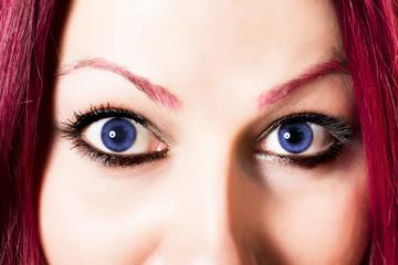 Human eye macro shoot
