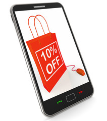 Ten Percent Off Phone Shows Online Sales and Discounts