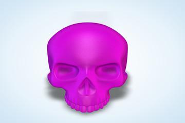 Hot Pink Skull Series II