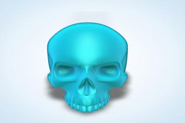 Baby Blue Skull Series II