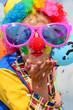 canvas print picture - Clown