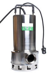 Pump with an electric motor