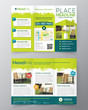 Real Estate Brochure Flyer design vector template - 69065780
