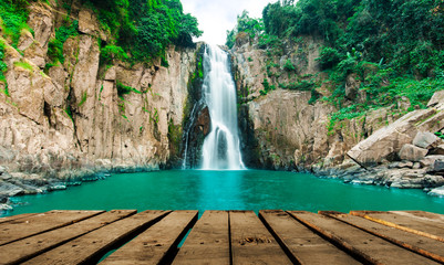 Haew Narok (chasm of hell) waterfall, Kao Yai national park, Tha