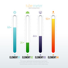 Tube Meter Infographic