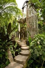 concrete structure in the jungle