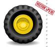 Tractor wheel - 69068722