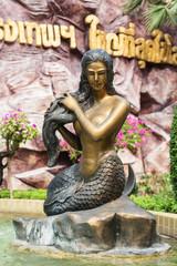 Mermaid Statue at Siam Park City, Bangkok