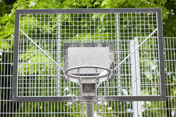 basketball metal ring