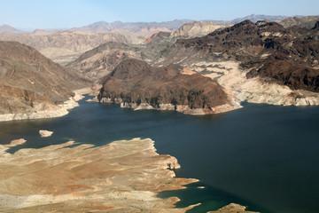 Stausee Lake Mead am Grand Canyon in Nevada und Arizona