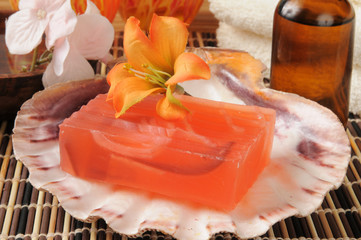 Luxury glycerine soap