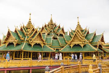 Golden Temple and Golden Bridge
