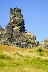 Teufelsmauer im Harz, markante Felsformation