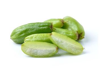 Bilimbi fruits of South East Asia