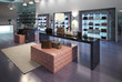 Leinwanddruck Bild - Interior of a modern store