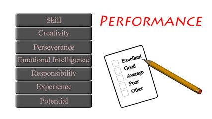 performance level conceptual measure form