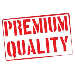 Stamp Illustration on White Background of  the word Premium Qual