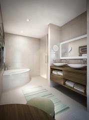 Bathroom modern style