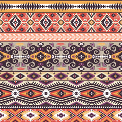 Ethnic print  pattern background