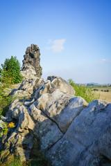 Teufelsmauer im Nationalpark Harz, Gesteinsformation