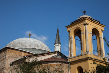 church and mosque, Istanbul