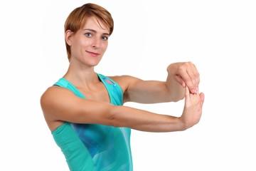 Dehnung der Handmuskulatur