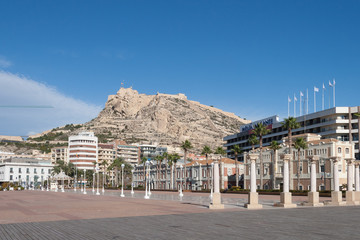 Cityscape of Alicante