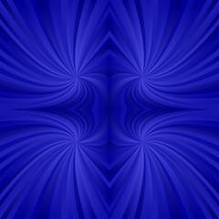 Blue mirror twirl pattern background