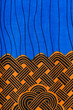 Manufactured African fabric (cotton) - 69076307