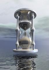 Hourglass - 3D render