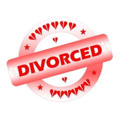 Divorced stamp