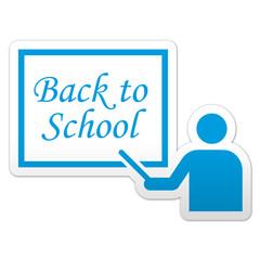 Pegatina simbolo Back to School