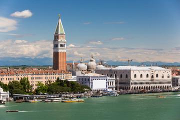 San Giorgio Maggiore Island & Giudecca Canal, Venice Italy