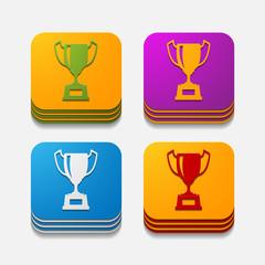 square button: winner