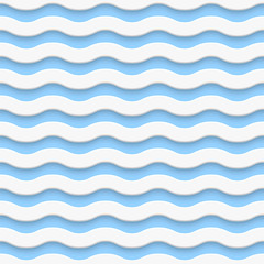 Simple seamless light wave pattern