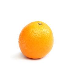 Orange. Citrus fruits on white background.