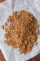 Organic coconut palm sugar- zucchero integrale di cocco