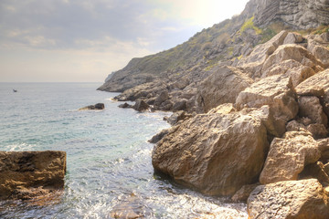 Black Sea coast, the mountain Koba-Kaya