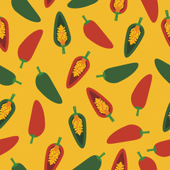 chilli pepper pattern