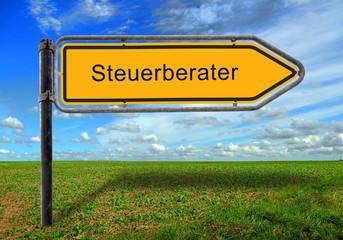 Strassenschild 17 - Steuerberater