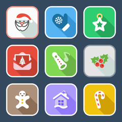 flat christmas iconset 2