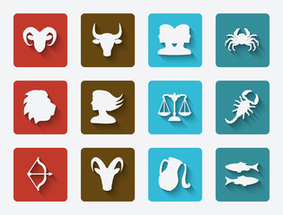astrological signs set