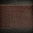 stitched leather background - 69080521
