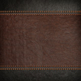 Fototapety stitched leather background