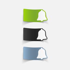 realistic design element: bell