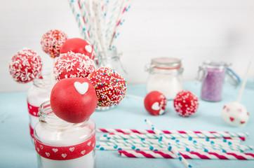 dekorierte cake pops
