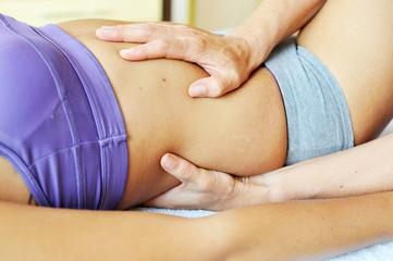 Sanfte Massage